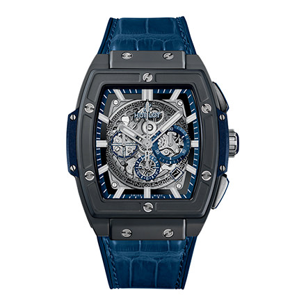 hublot CERAMIC BLUE 45 mm