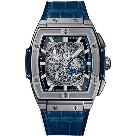 hublot TITANIUM BLUE 45 mm