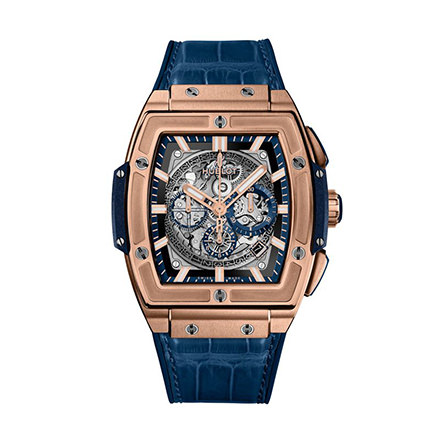 hublot KING GOLD BLUE 45 mm