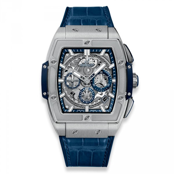 hublot SPIRIT OF BIG BANG TITANIUM BLUE 42 mm