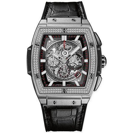 hublot TITANIUM DIAMONDS 42 mm