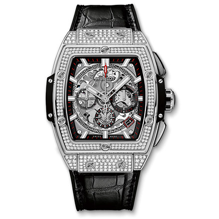 hublot SPIRIT OF BIG BANG TITANIUM PAVÉ 42 mm