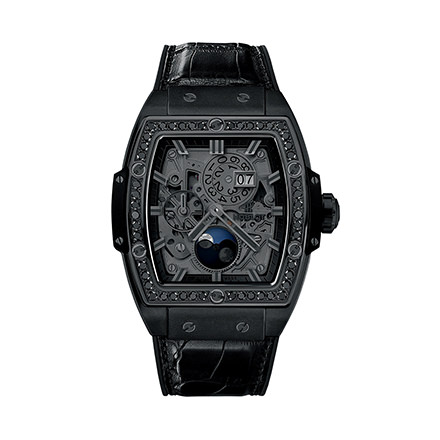 hublot MOONPHASE ALL BLACK DIAMONDS 42 mm