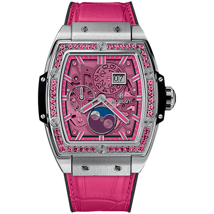 hublot MOONPHASE TITANIUM PINK 42 mm