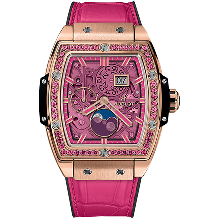 hublot MOONPHASE KING GOLD PINK 42 mm