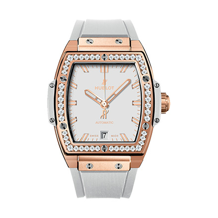 hublot KING GOLD WHITE DIAMONDS 39 mm
