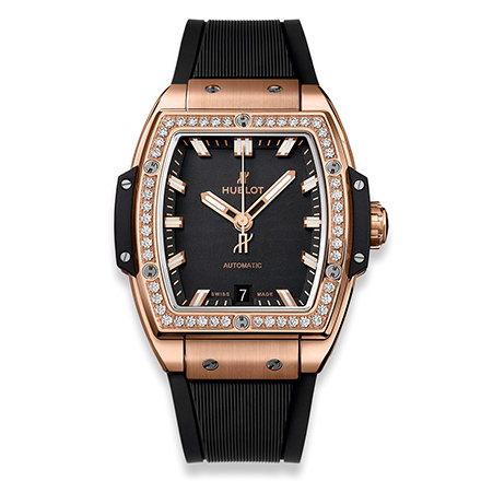 hublot SPIRIT OF BIG BANG KING GOLD DIAMONDS 39 mm