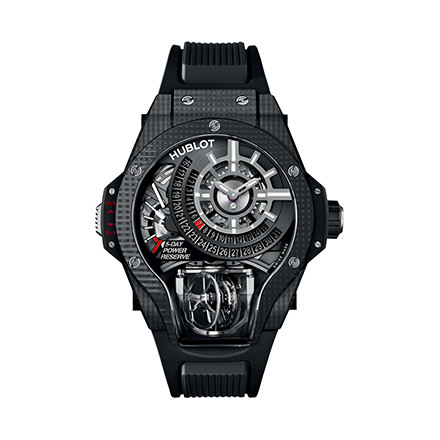 hublot MP-09 TOURBILLON BI-AXIS 3D CARBON 49 mm