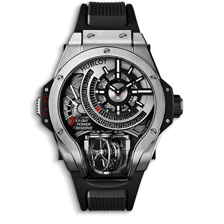 hublot MP-09 TOURBILLON BI-AXIS TITANIUM 49 mm