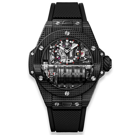 hublot HUBLOT BIG BANG MP-11 POWER RESERVE 14 DAYS 3D CARBON 45 MM