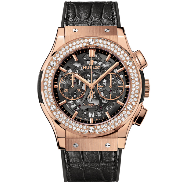 hublot Aerofusion King Gold Diamonds