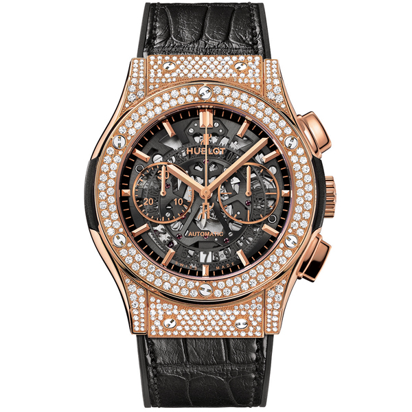 hublot Aerofusion King Gold Pave'