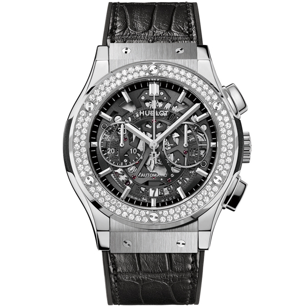 hublot Aerofusion Titanium Diamonds