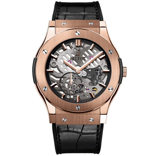 hublot Ultra-Thin Skeleton King Gold