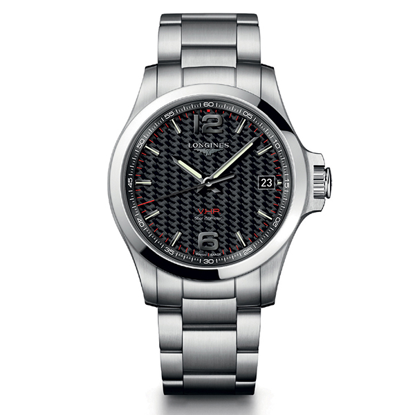 longines conquest-vhp - 41 mm quarzo