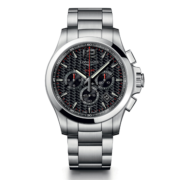 longines conquest-vhp - 44 mm quarzo