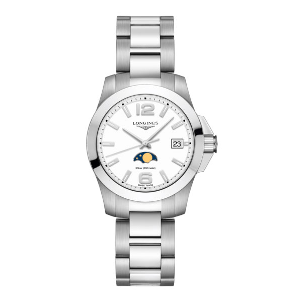 longines conquest - 34.00 mm