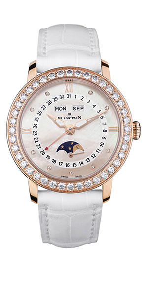 Blancpain Women Oro e Diamanti