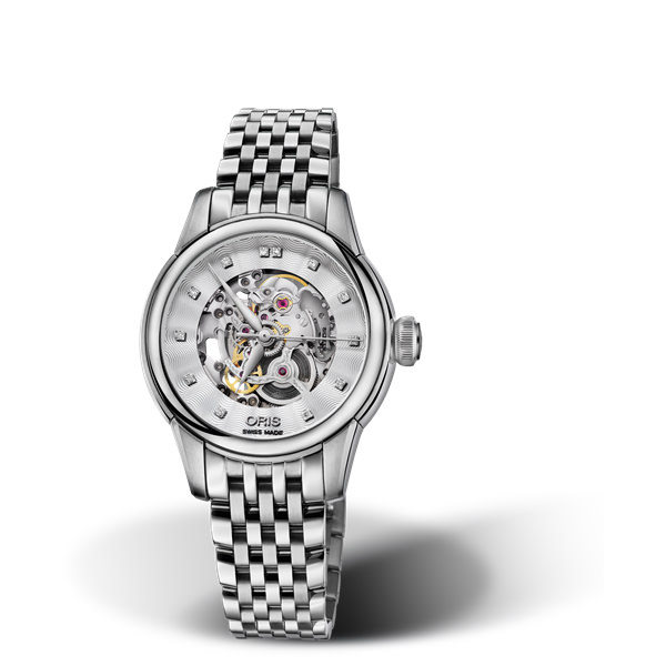 oris cultura - ORIS ARTELIER SKELETON DIAMONDS