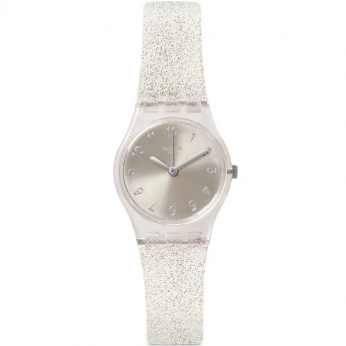 swatch ORIGINALS - SILVER GLISTAR TOO