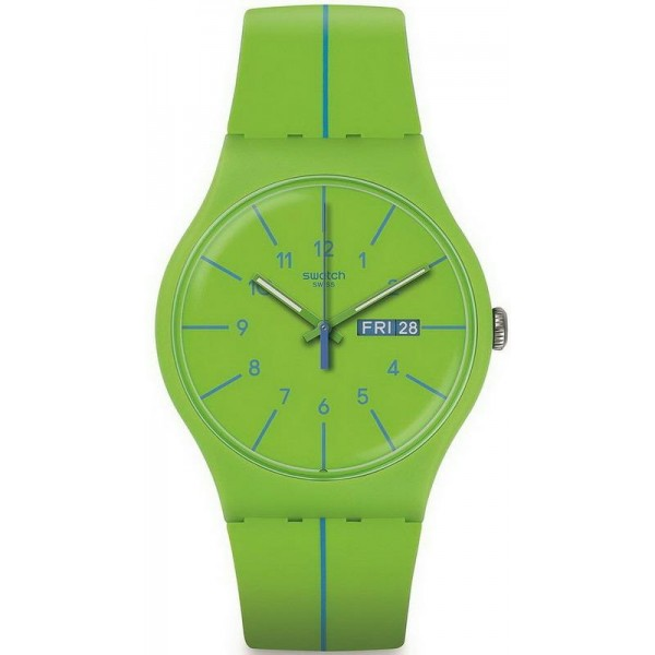 swatch ORIGINALS - VERDE AZUL