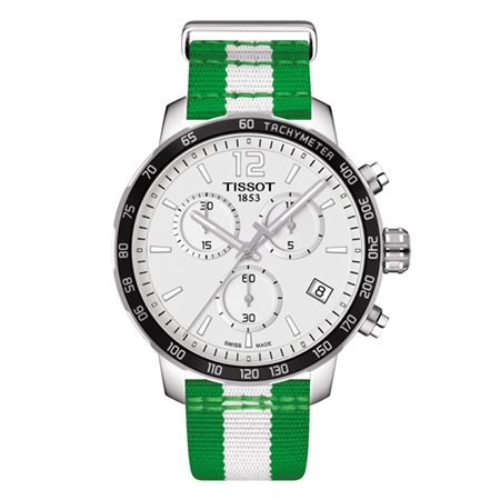 TISSOT QUICKSTER CHRONOGRAPH NBA BOSTON CELTICS