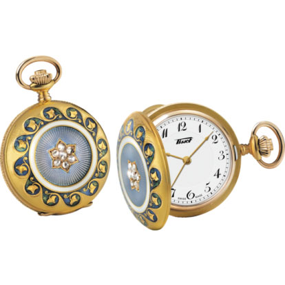tissot TISSOT PENDANT 1878 160TH ANNIVERSARY MECHANICAL